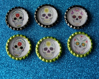 Day of the Dead skeleton magnets