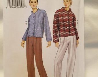 Vogue jacket and slacks -   V9139 Size Lrg-XXL new uncut 2015