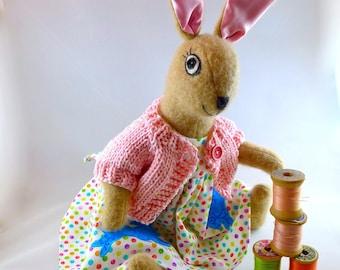 Waldorf Style Bunny Doll