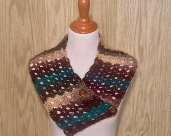 Lacy Neck Scarf