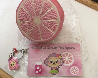 Puni Maru Super Jumbo Pink Lemon