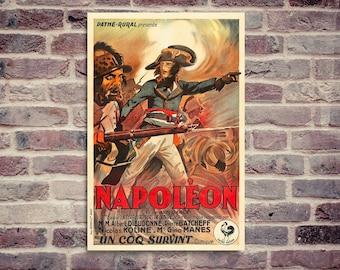 Abel Gance Napoléon. Napoléon poster. Napoléon Bonaparte. Albert Dieudonné.