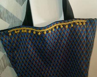 SHOPPER bag 100% handmade