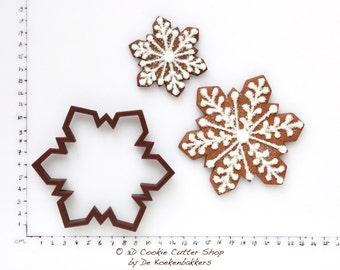 Snowflake #4 Cookie Cutter