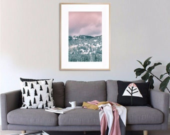 Pine Trees Art Print • Kubitees, Kubitees Art, Art Print, Home Decor, Bedroom Decor, Nature, Nature Prints, Digital Download, Pine Trees