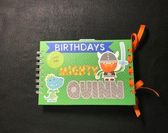 Birthday Memory Book