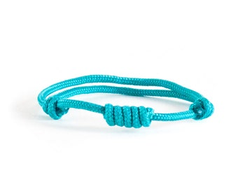 Friendship Bracelet. Woven Bracelet. Climbing Rope Bracelet. Rock Climbing Jewelry - Men's Climber (Sailor) Knot Jewelry