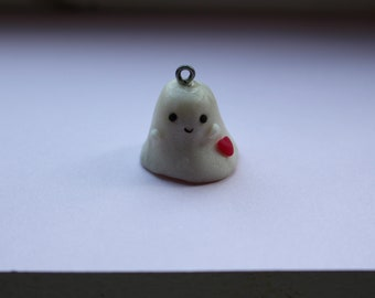 Adorable Mini Ghost Charm