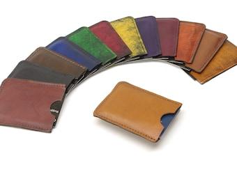 Leather Minimalist Card Case