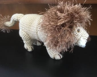 Crocehted Lion