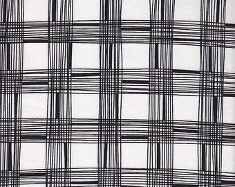 Free Spirit Fabrics Erin McMorris Astrid Pica in Black - Half Yard