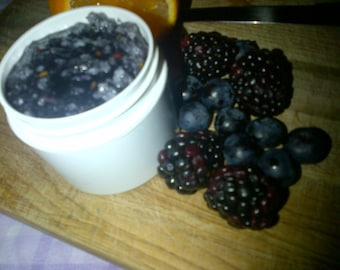 Black & Blue Berry Scrub