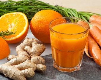 Orange Ginger Carrot Jam 8oz - TheSunshineJellyCo