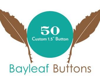 50 Custom Buttons