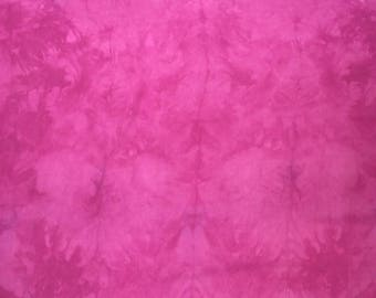 """35"""" Cranberry Marbled Play Silk"""