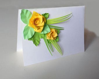 Card for Mom, Card for Easter, Birthday Card, Mother's Day Card, Card for Bestfriend, Card for Girlfriend, Card for Wife, Greeting Card