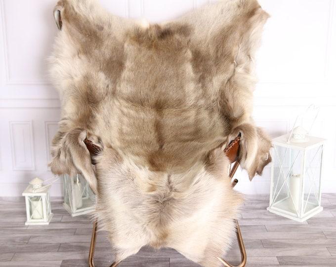 Reindeer Hide   Reindeer Rug   Reindeer Skin   Throw Large  - Scandinavian Style #BRE7