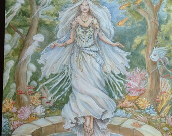 the well by Renae Taylor (original painting)