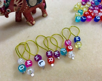 Snag free stitch markers - Knitting stitch markers - Set of 8 each