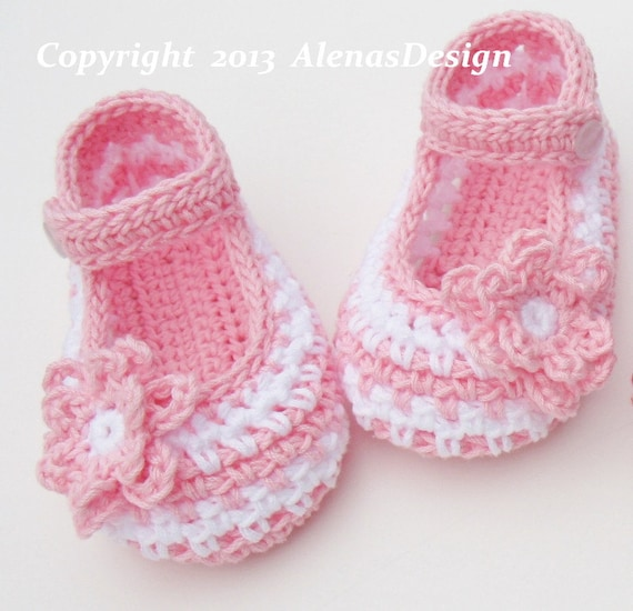 Crochet Booties Pattern 076 - Crochet Baby Shoes Pattern - Crochet ...