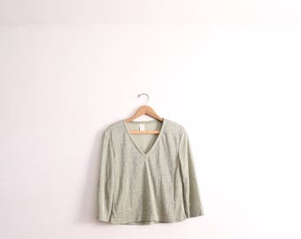 Pale Metallic 90s Top