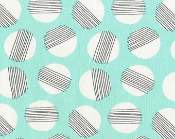 Michael Miller - Hazy Moon - Seafoam - DC7814 SEAF D - 100% cotton fabric - Fabric by the yard(s)