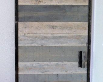 Gray Blend Barn Door