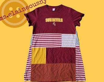 Arizona State Apparel, ASU Womens Clothing, ASU Alumni, Swing Shirt, Arizona State Clothing, Arizona State University, Arizona Sun Devils