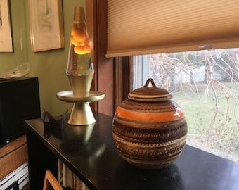 Aldo Londi Sahara Lidded Jar or Urn for Bitosi Raymor Italy