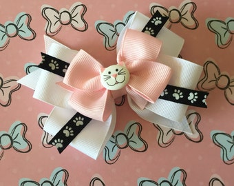Kitty Bow (Free Shipping in US)