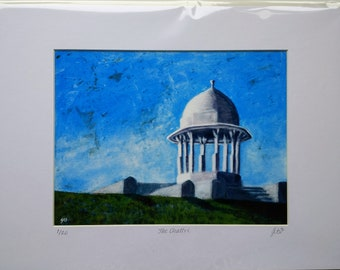 Signed Limited Edition Giclée of 'The Chattri' from an original painting