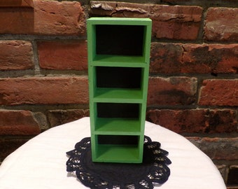 Small wooden shadow box, green wall shadow box, Wooden wall décor, wooden wall box, Wooden wall décor, Morethebuckles