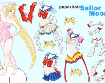Sailor Moon Paperdoll