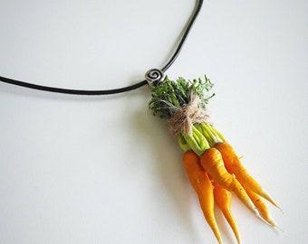 "Charm ""Bundle of carrots"", fresh from landmarket"