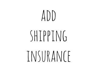 SHIPPING/PACKAGE INSURANCE
