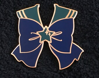 Sailor Neptune bow pin