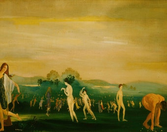 Arthur Bowen Davies: Elysian Fields. Fine Art Print/Poster. (002617)
