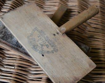 Primitive Antique Wooden Wool Paddles