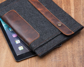 Dark Felt Samsung Galaxy Tab S3 Case. Samsung galaxy tab a 10.1 case. galaxy tab a case. Galaxy tab s2 case.