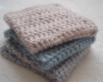 Crochet Wool Blanket, Newborn Photography Prop, Crochet Blanket, Mini Blanket, Basket Filler, Layers, Basket Stuffer
