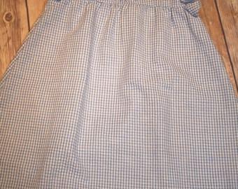 Girls Toddler Gingham Dress Monogram