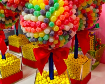 Disney Inspired Mickey or Minnie Mouse Centerpiece Candy