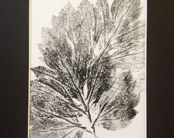 Leaves of Spring Monoprint #3