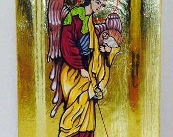 Angel - ICON - ORIGINAL - 24K Gold Leaf