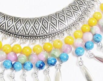 Aniya ethnic tribal chic necklace