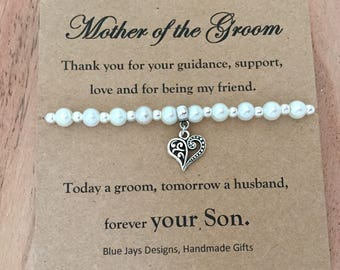Mother of the Groom Gift, Grooms Mother Gift, Mother in Law Gift, Today a Groom, Tomorrow a Husband, Thank You Gifts, Gift from Groom