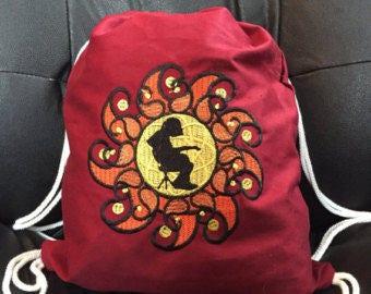 Mikey Sun Drawstring Bag