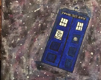 TARDIS in Galaxy