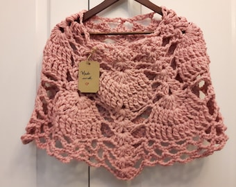 Crochet Poncho Capelet