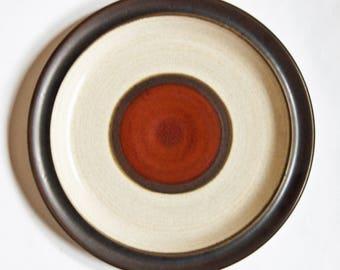 Vintage Denby Potters Wheel Set of 4 Side Plates & Denby potters wheel   Etsy